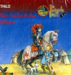 Die magische Insel, Audio-CDs: Der heimliche Ritter, 2 Audio-CDs; 2