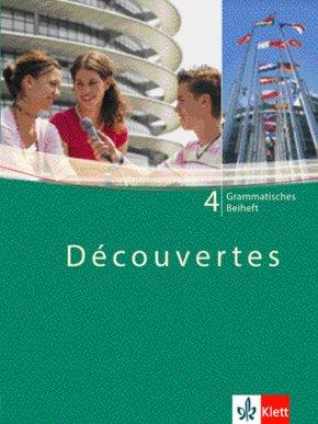 Découvertes: Grammatisches Beiheft, 4. Lernjahr; Bd.4