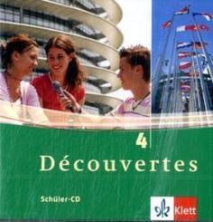 Découvertes: 2 Schüler-Audio-CDs, 4. Lernjahr; Bd.4