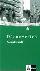 Découvertes: Vokabellernheft, 4. Lernjahr; Bd.4