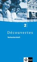 Découvertes: Verbenlernheft, 2. Lernjahr; Bd.2