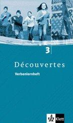 Découvertes: Verbenlernheft, 3. Lernjahr; Bd.3