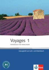 Voyages - Französisch für Erwachsene: Lösungsheft zum Lehr- und Arbeitsbuch