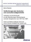Verflechtungen der deutschen und russischen Zeitgeschichte