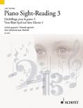 Vom-Blatt-Spiel auf dem Klavier - Sight-Reading - Dechiffrage pour le Piano - Tl.3