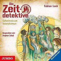 Die Zeitdetektive - Geheimnis um Tutanchamun, 1 Audio-CD