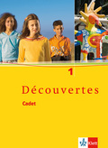 Découvertes, Cadet: Cadet: Schülerbuch; Bd.1