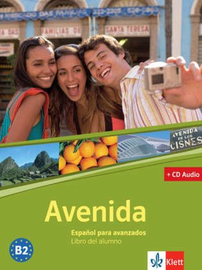 Avenida: Libro del alumno, m. Audio-CD
