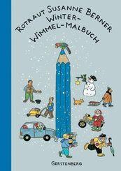 Winter-Wimmel-Malbuch