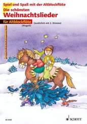 Die schönsten Weihnachtslieder, Für Altblockflöte