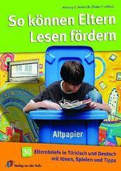 So können Eltern Lesen fördern