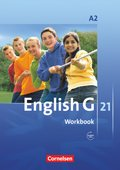 English G 21, Ausgabe A: 6. Schuljahr, Workbook mit Audios online; Bd.2