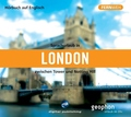 Sprachurlaub in London zwischen Tower und Notting Hill, 1 Audio-CD