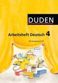 Duden Sprachbuch, Ausgabe A: Klasse 4, Arbeitsheft Deutsch, Schulausgangsschrift