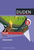 Duden Physik, Ausgabe Gymnasium Thüringen: 8. Klasse, Arbeitsheft