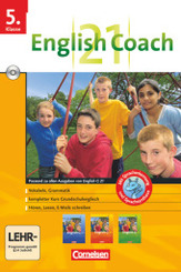 English G 21 (Lernsoftware): 5. Klasse English Coach, 1 CD-ROM
