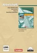 Fokus Mathematik, Gymnasium Nordrhein-Westfalen: 8. Klasse, Arbeitsheft, m. CD-ROM