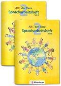 ABC der Tiere: 2. Schuljahr, Spracharbeitsheft, 2 Tle. - Tl.A/B