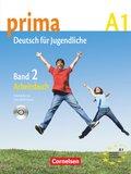 Prima - Deutsch für Jugendliche/junge Erwachsene: Arbeitsbuch; Bd.2