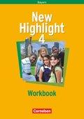 New Highlight, Hauptschule Bayern: 8. Schuljahr, Workbook; Bd.4