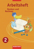 Denken und Rechnen, Ausgabe 2007 für die östlichen Bundesländer: 2. Jahrgangsstufe, Arbeitsheft