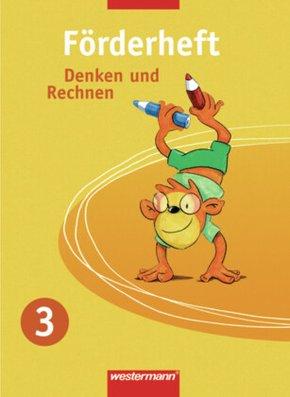 Denken und Rechnen, Förder- und Forderheft: Förderheft, 3. Schuljahr