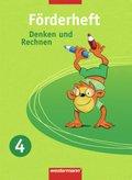 Denken und Rechnen, Förder- und Forderheft: Förderheft, 4. Schuljahr