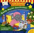 Benjamin Blümchen, Gute-Nacht-Geschichten - 24 Weihnachtsgeschichten, Audio-CD