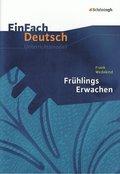 Frank Wedekind 'Frühlings Erwachen'