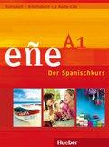 eñe - Der Spanischkurs: Niveau A1, Kursbuch u. Arbeitsbuch, m. 2 Audio-CDs