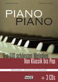 Piano Piano, mittelschwer arrangiert, m. 3 Audio-CDs
