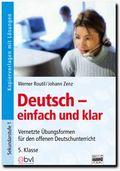 Deutsch - einfach und klar; 5. Klasse