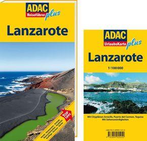 ADAC Reiseführer plus Lanzarote, m. UrlaubsKarte