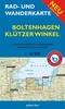 Rad- und Wanderkarte Boltenhagen, Klützer Winkel