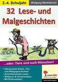 32 witzige Lese-, Mal- & Spielgeschichten - Bd.1
