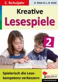 Kreative Lesespiele zur Verbesserung der Lesekompetenz: Spielerisch lesen lernen im 2. Schuljahr