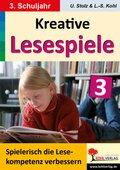 Kreative Lesespiele zur Verbesserung der Lesekompetenz: Spielerisch lesen lernen im 3. Schuljahr