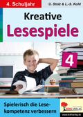 Kreative Lesespiele zur Verbesserung der Lesekompetenz: Spielerisch lesen lernen im 4. Schuljahr