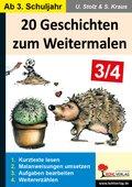 20 Geschichten zum Weitermalen - Bd.2