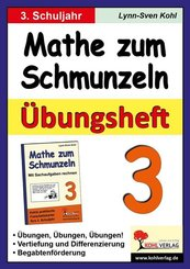 Mathe zum Schmunzeln: 3. Schuljahr, Übungsheft