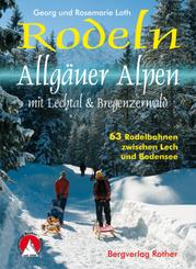 Rodeln Allgäuer Alpen mit Lechtal & Bregenzerwald
