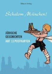 Schalom München!, Postkartenbuch