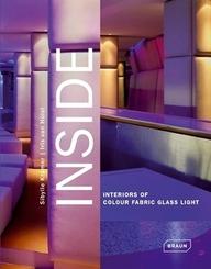 Inside, Interiors of Colour Fabric Glass Light