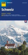 ADAC Karte Schweiz