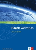 Haack Weltatlas für Baden-Württemberg, m. CD-ROM u. Arbeitsheft