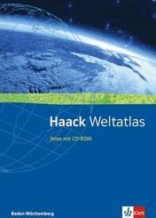 Haack Weltatlas. Ausgabe Baden-Württemberg Sekundarstufe I und II, m. 1 CD-ROM