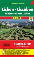 Freytag & Berndt Stadtplan Lissabon; Lisbon; Lisbonne; Lisbona; Lisboa