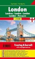 Freytag & Berndt Stadtplan London, City Pocket, Stadtplan1:10.000; Londres; Londra; Londen; Londyn
