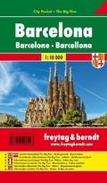 Freytag & Berndt Stadtplan Barcelona; Barcelone; Barcellona