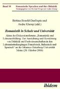 Romanistik in Schule und Universität